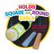 Walkie Chalk holds most standard sidewalk chalk.
