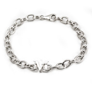 Sterling True Devotion to Mary Bracelet