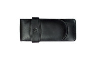Pelikan Three Pens Black Leather Case