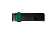 Pelikan Two Pens Green Black Leather Case