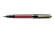 Pelikan Souveran 600 Red Black Rollerball Pen