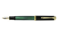 Pelikan Souveran M800 Green Black Fountain Pen