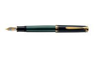 Pelikan Souveran 400 Green Black Fountain Pen