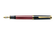 Pelikan Souveran 400 Red Black Fountain Pen