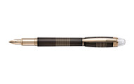 Montblanc StarWalker Red Gold Plated Metal Fountain Pen