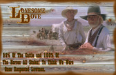 OLD Lonesome Dove Respected Lawmen Old Wooden Sign 11 x 17 x 1