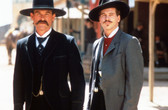 Tombstone-Russell-Kilmer Doc And Wyatt 8 x 10 Photo