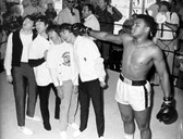 The Beatles And Muhammad Ali 8 x 10 Photo