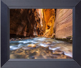Water Runs Thru Zion National Park, Utah Photo Print