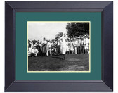 Bobby Jones 1929 The Perfect Golf Swing Framed Print