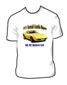 1971 Chevrolet Corvette Stingray T-Top Classic Car T Shirt