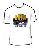 Bmw On My Bucket List Classic Car T Shirt