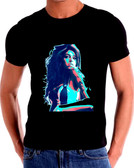 Amy Winehouse Watercolor Art T-Shirt