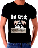 Lonesome Dove Hat Creek Cattle We Don't Rent Pigs  Company T Shirt