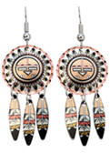 All Copper Native American Spirit Prayer Copper Earrings Copper Earrings