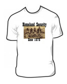 Homeland Security Native American Indians Geronimo T Shirt