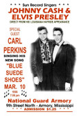 JOHNNY Cash & Elvis 12 X 18 POSTERS