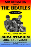 Beatles Poster Shea 12 X 18 POSTERS