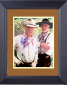 Lonesome Dove Gus And Call Signed Framed Print
