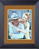 Lonesome Dove Gus And Lori Darling Framed Print