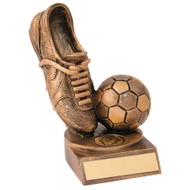 Resin Trophy Boot & Ball   RF167