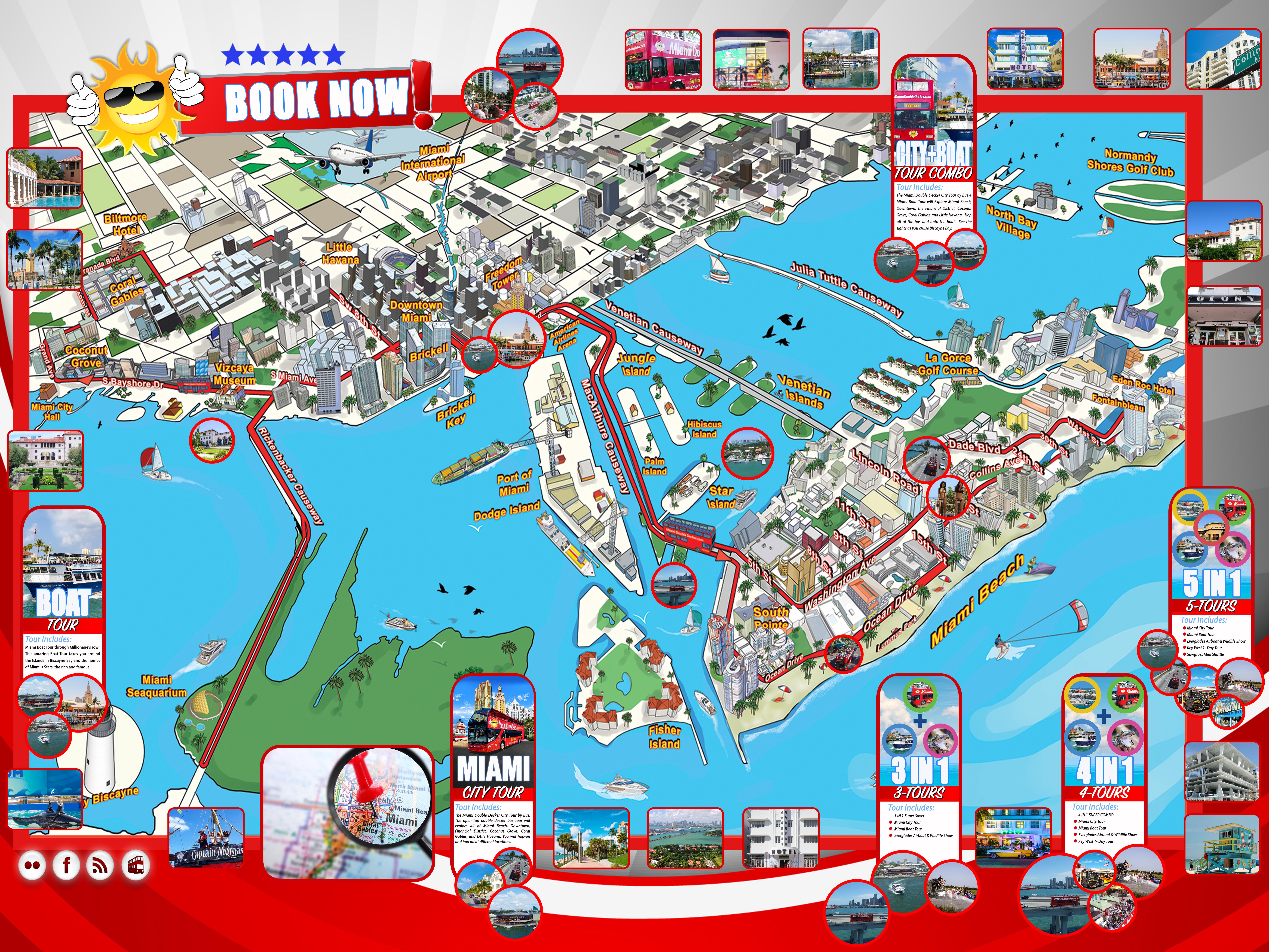 Map Miami My Blog - Us map miami