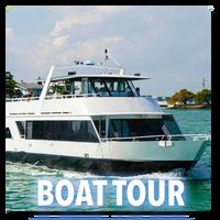 Millionaire Boat Tour +Transportation
