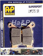 Pastillas de Freno Trasero AP Racing para F800/F700/XT660Z (LMP275)