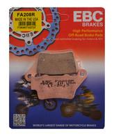 Pastillas de Freno Trasero EBC Brakes Sinterizadas para F800/F700/XT660Z (FA208R)