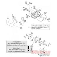 Cambio Básico Kit Bomba Agua KTM 950 / 990 / R / Adventure (MSS-CAKITBOM1)