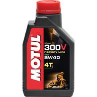 Aceite 100% Sint. Motul 300V Double Ester 4T 5W40 (300V-5W40)