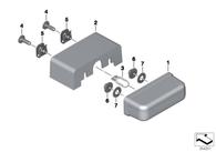 Adaptador Para Luz de Placa S1000RR / F700 / F800 GS/GSA (63147695307)