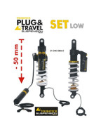 Juego de Suspensión de Touratech Suspension Reducción de Altura -50 mm Plug & Travel Para BMW R1200GS LC 2013-2016 (01-045-5886-0)