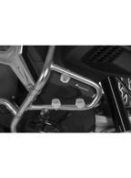 Pantalla Para el Estribo de Protección Original BMW R1200GS Adventure a partir de 2014, Plata/Negro ( 01-045-5167-0)