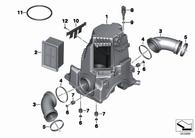 Filtro de Aire BMW R1200 GS 04-13