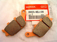 Pastillas Honda de Freno Traseras Honda Transalp XL700VA -> 08 (06435-MEJD016)
