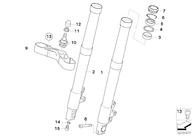 Retén Suspensión G650 GS/Sertão/F700 GS/R1200 GS/GSA 06-13 (31427666225)