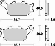 Pastilla de Freno Trasera Vstrom DL650 / DL1000 Braking (742SM1)