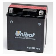 Batería Unibatt para Honda Falcon CBTX7L-BS (CBTX7L-BS)