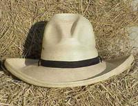 """SUNBODY 5"""" PALM  GUS CREASED COWBOY WESTERN HAT"""