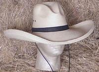 "SUNBODY 6"" GUS STYLE PALM WESTERN HAT~NWT"