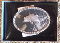 Nocona Mossy Oak/Bass Belt Buckle