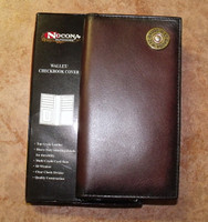 Nocona Leather 12 Guage Rodeo Wallet/Checkbook