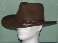 STETSON WILDWOOD ACORN CRUSHABLE WOOL WESTERN HAT