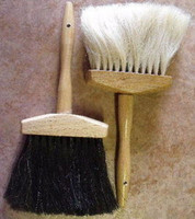 Horse Hair Hat Crown Brush