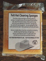 Two-Pack Felt Hat Cleaning Sponges