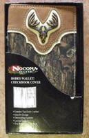 Nocona Mossy Oak/Deer Skull Rodeo Wallet