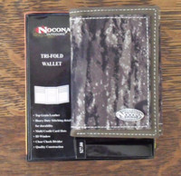 Nocona Leather Mossy Oak Tri-Fold Wallet