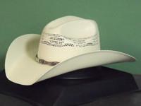 Justin Mesa 20X Bangora Straw Cowboy Hat