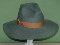 LADIES STETSON DAY DREAMER HEMP BRAID DOWNBRIM FEDORA HAT